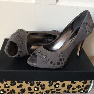 Nicole Miller peep toe heels